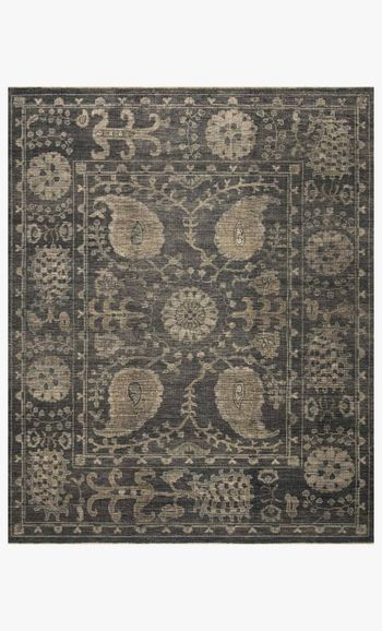 Hq-02 6' X 9' Rug,  Taupe / Taupe