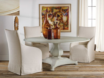 """Continental Dining Table- 72"""" Antique Grey"""