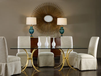 Retro Gilded Table-Base Only