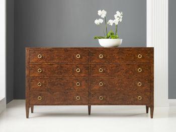 Walnut Burl Dresser