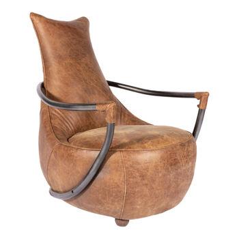 Carlisle Club Chair Light Brown