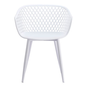 Piazza Outdoor Chair White (Set of 2)