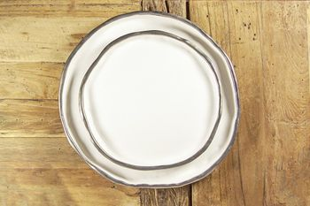 """Plate No. """"Two Hundred Three"""" Pt78 Platinum, Large"""