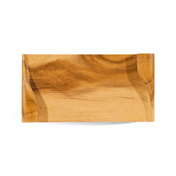 Wrap Carved Wood Tray