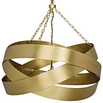 Qs Orion Pendent, Antique Brass