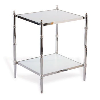 Doheny Nickel Accent Table