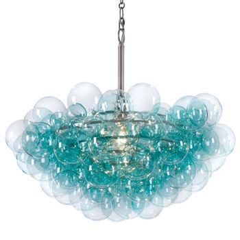 Bubbles Chandelier (Aqua)