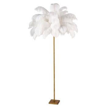 Josephine Feather Floor Lamp