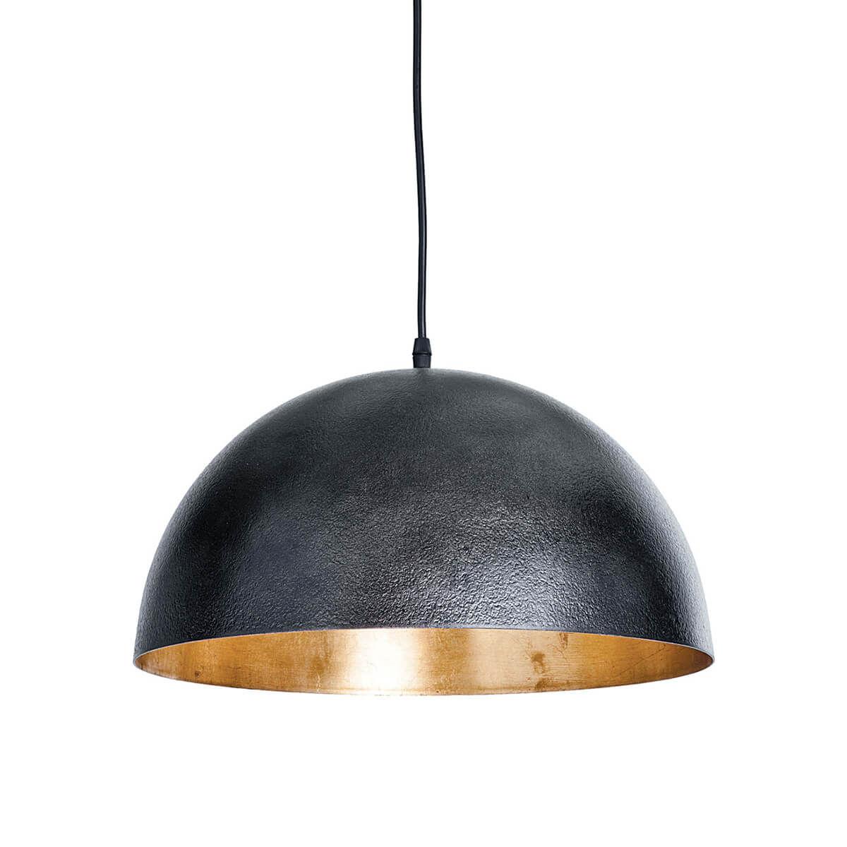 Sigmund Pendant Small (Black And Gold)