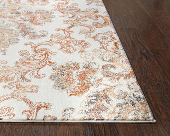 """Rug, Classic Design in Beige, & Easy Care 85%Polypropylene/15%Polyester. 7'10""""X9'10"""""""