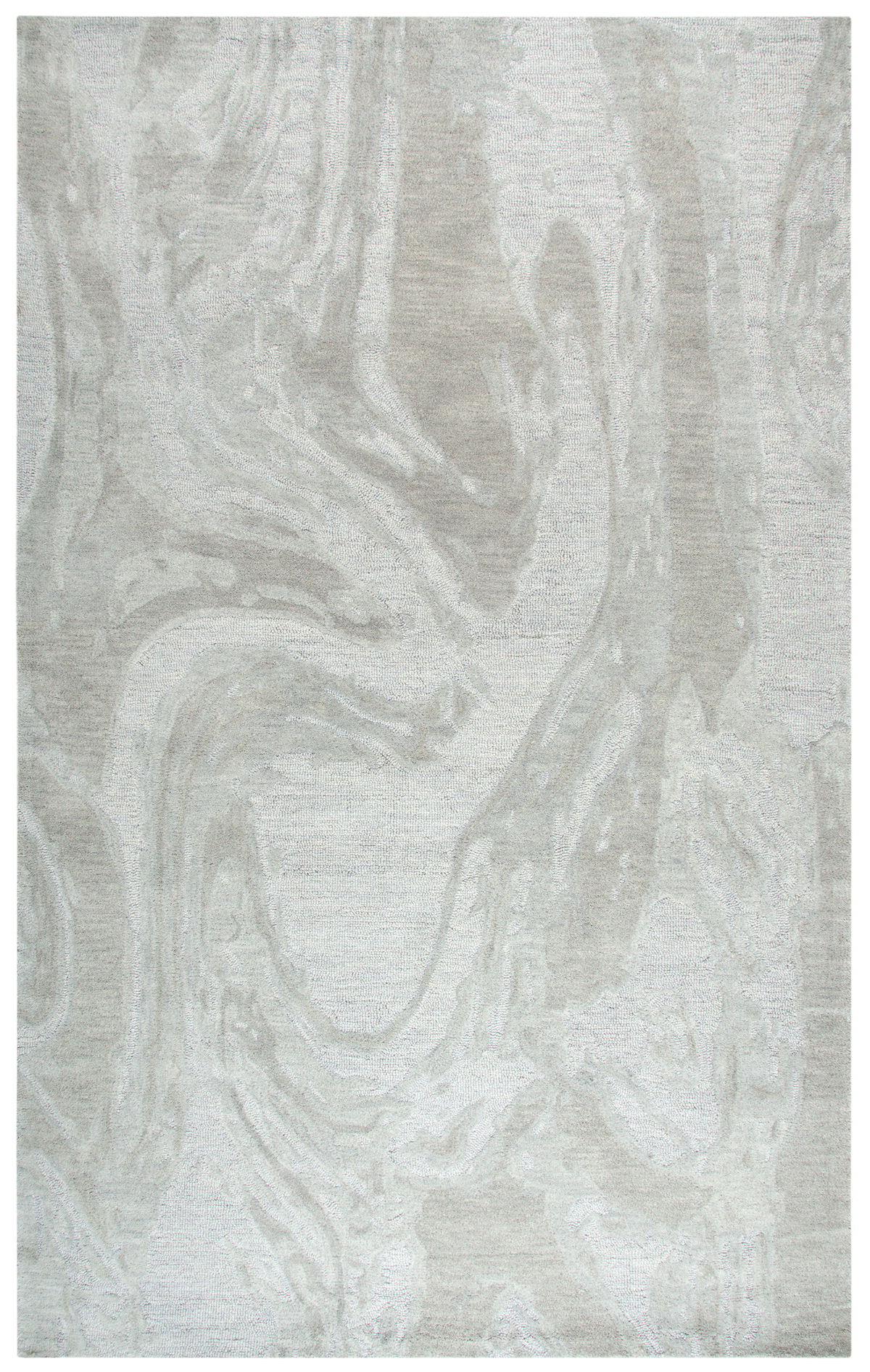 Fifth Avenue Gray 9' X 12' Hand-Tufted Rug