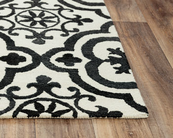 """Rug, Hand-Tufted 80% Wool/20% Recycled Poly, Creates a Unique Texture, 7'6""""X9'6"""""""