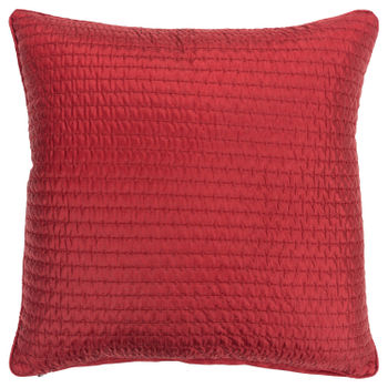 """Rizzy Home 22"""" X 22"""" Poly Filled Pillow"""