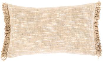 "Suri 12"" X 20"" Pillow Kit, Ivory"