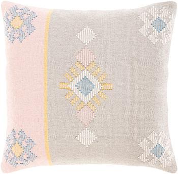 """Zakaria 20"""" X 20"""" Pillow Kit, Cream"""
