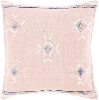 """Zakaria 22"""" X 22"""" Pillow Kit, Cream"""