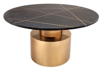 Terzo Black Marble Coffee Table