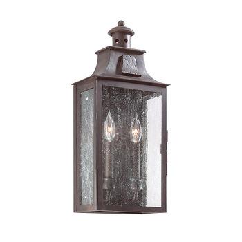 Newton 2 Light Wall Pocket Lantern Medium