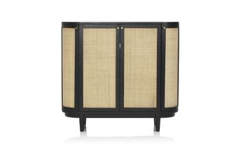 Canggu Storage Cabinet - Charcoal