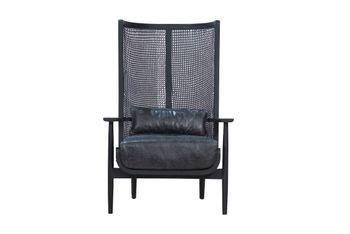 Wingman Lounge Chair - Black