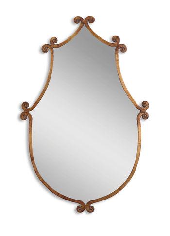 Ablenay Antique Gold Mirror