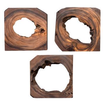Adlai Wood Wall Art S/6