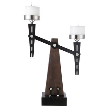 Cardiff Industrial Candleholder