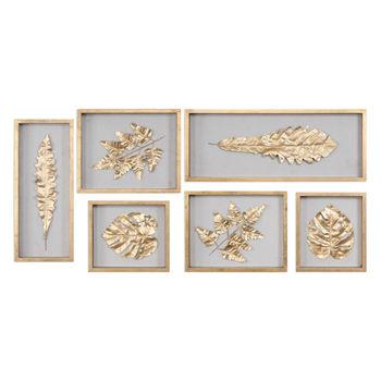 Golden Leaves Shadow Box Set/6
