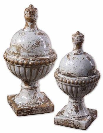 Sini Ceramic Finials, Set/2