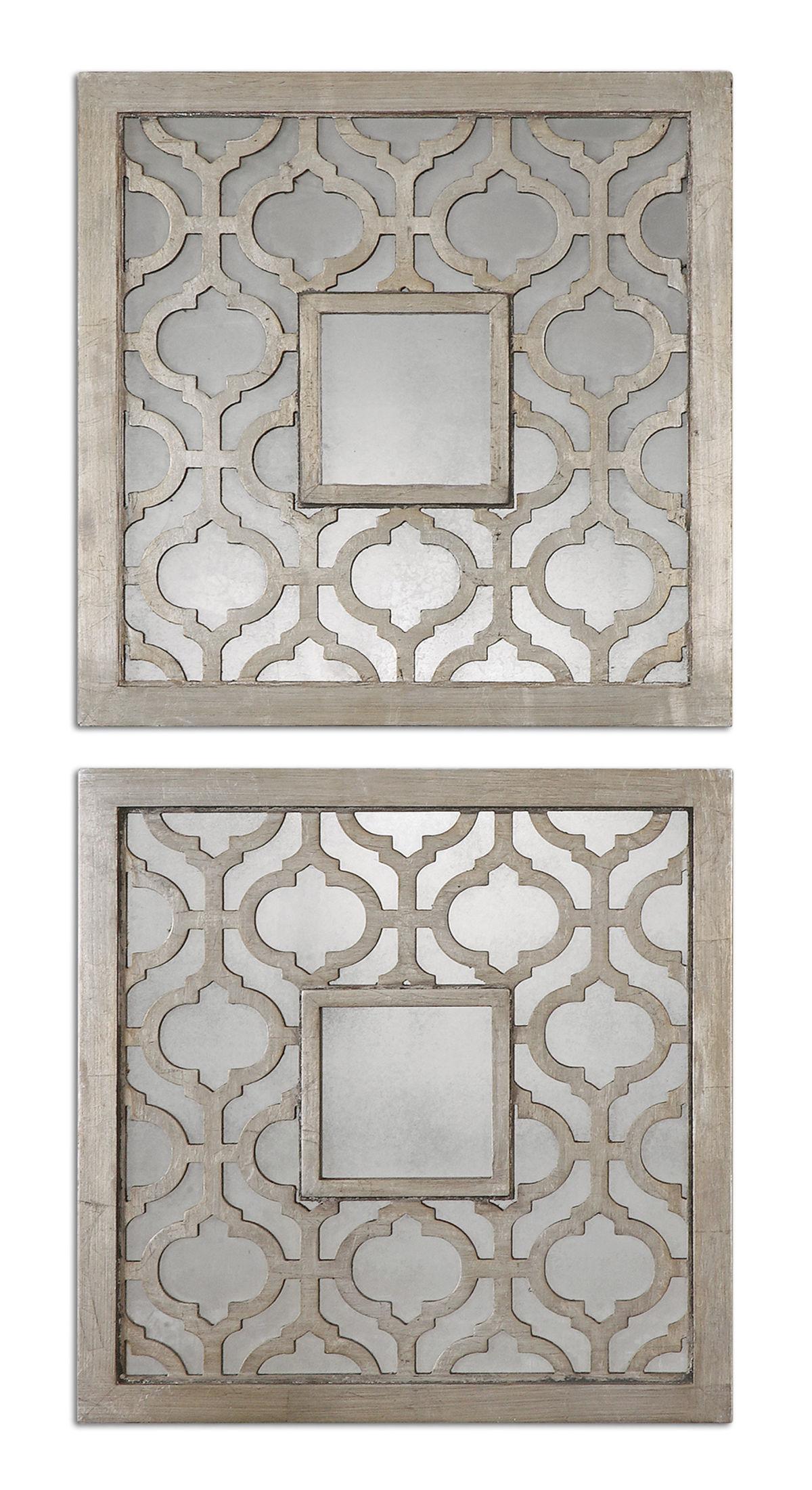 Sorbolo Squares Decorative Mirror Set/2