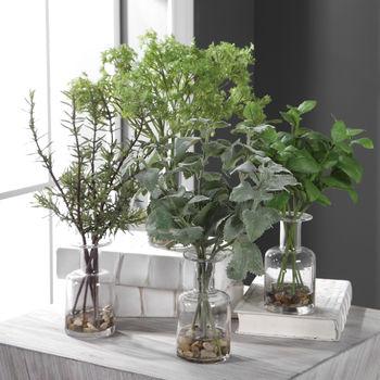 Uttermost Ceci Kitchen Herbs, Set/4