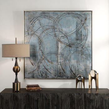 Uttermost Interlock Modern Art