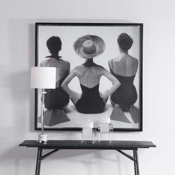 Uttermost Ladies' Swimwear, 1959 Fashion Print