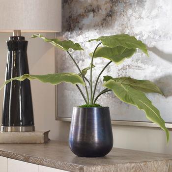 Faux Calla Potted Plant