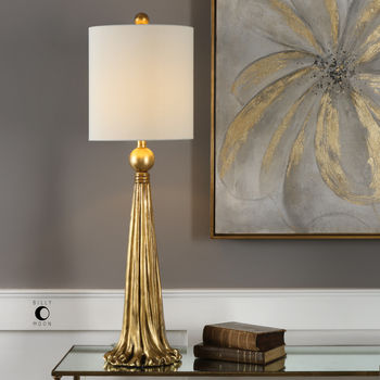 Uttermost Paravani Metallic Gold Lamp