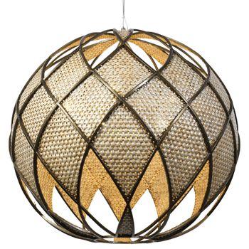 Argyle 6-Lt Ball Pendant - New Bronze/Desert Pearl