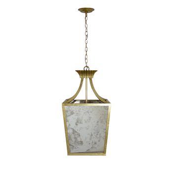 Alister G, Antique Mirror, Lantern, In Gold Leaf