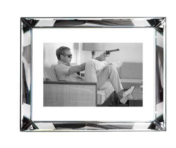 Bvl214, Steve Mcqueen Take Aim - Beveled Frame