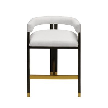 Cruise, Modern Wooden Accent Counter Stool
