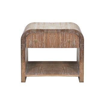 Esther Dco, Waterfall Edge Side Table