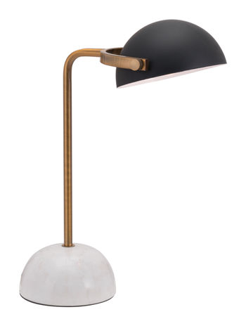 Irving Table Lamp Black & White