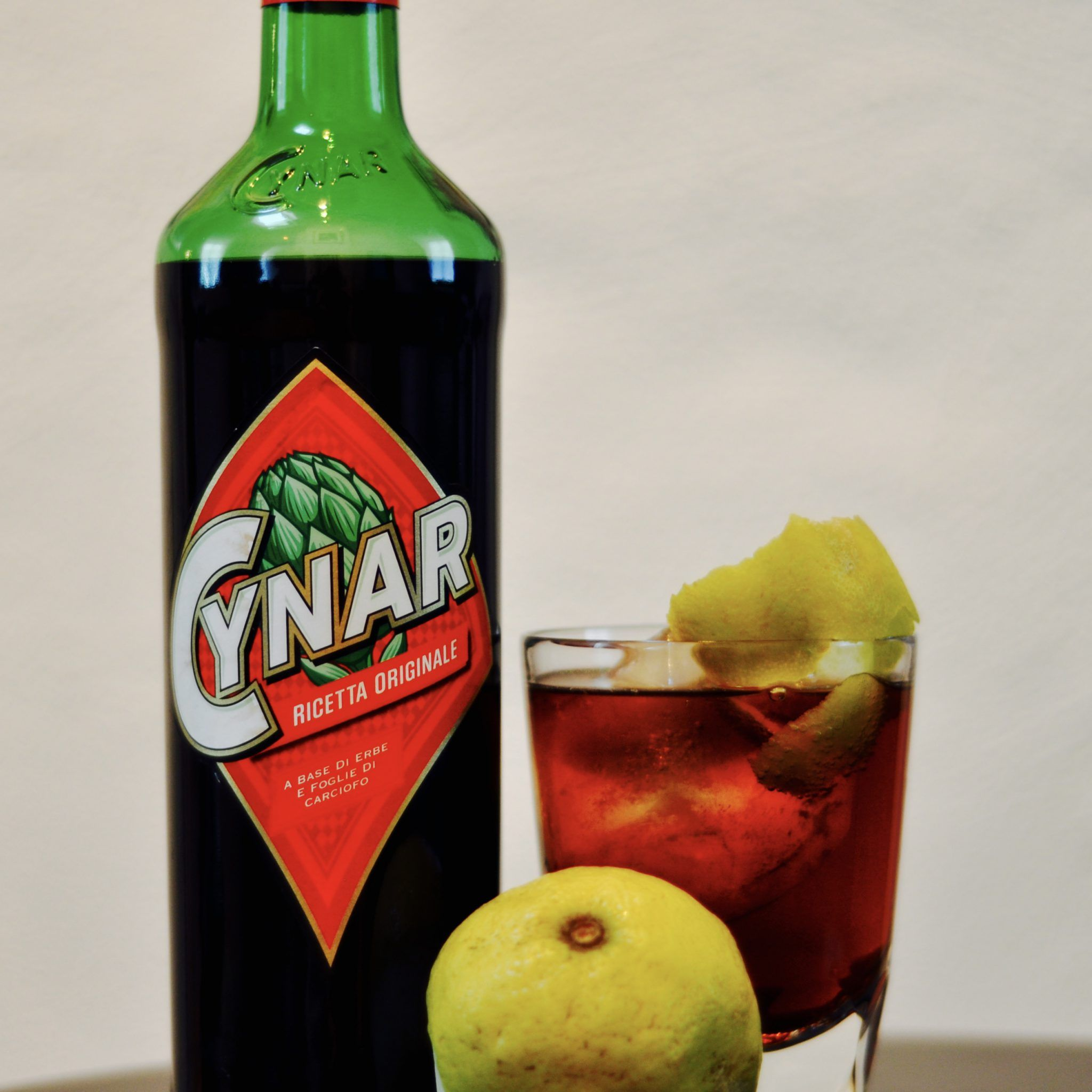 DSC 0247 A bottle of Cynar