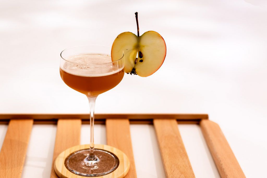 apple brandy, apple cider vinagar, bourbon