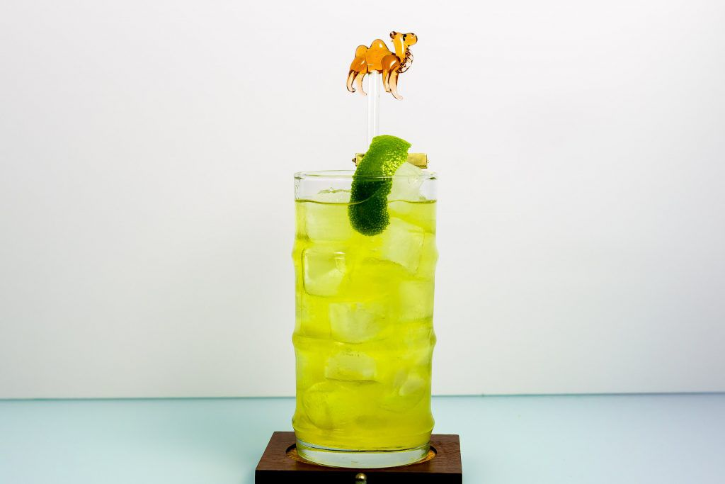 ginger liqueur, tequila, yellow chartreuse