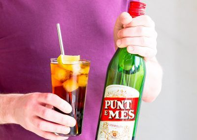 Punt e mes and soda