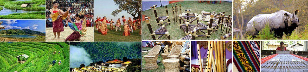 Handicrafts of Northeast India