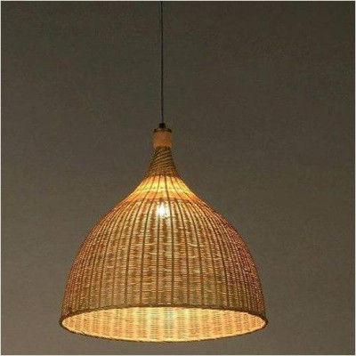 Bamboo Natural Hanging Lamp(#1008)-gallery-0