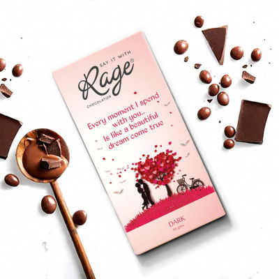 Rage Every Moment I Spend with You Dark Chocolate - 90 Grams(#1016)-gallery-0