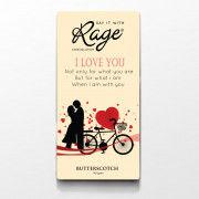 Rage Butterscotch Chocolate I Love You - 90 Grams(#1020) - Getkraft.com