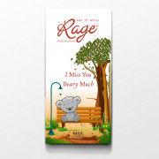 Rage Milk Chocolate Miss You - 90 Grams(#1024) - Getkraft.com